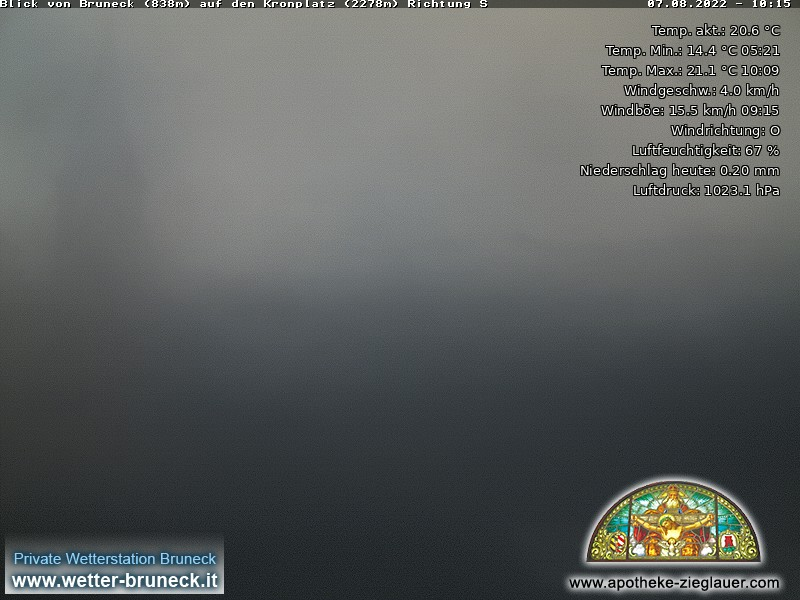 Webcam a Brunico (BZ)